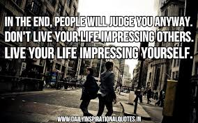 impressing people
